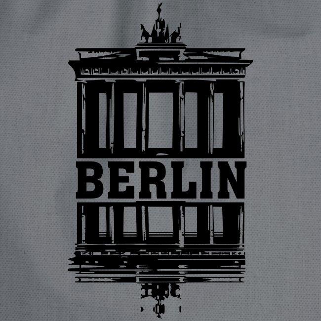 Berlin Brandenburger Tor Wasserspiegelung cool