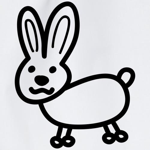 Hase Comicfigur - Turnbeutel