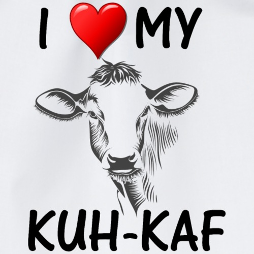 I love my Kuh Kaf - Turnbeutel