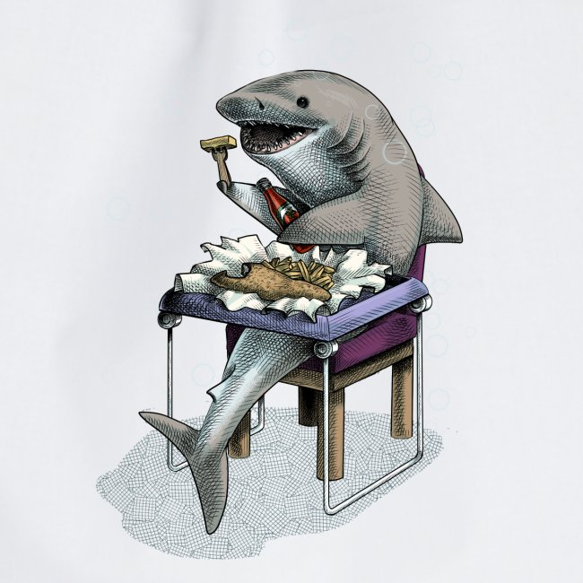 Shark's Fish and Chip dinner