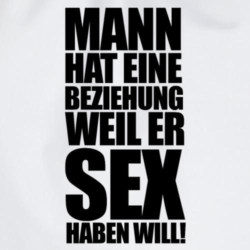 MANN WILL - Turnbeutel