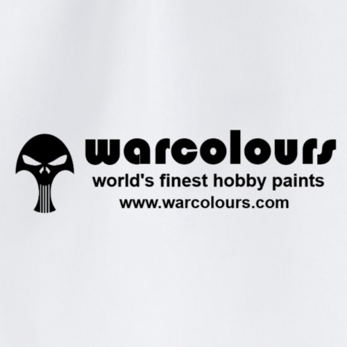 warcolours world's finest hobby paints - Drawstring Bag