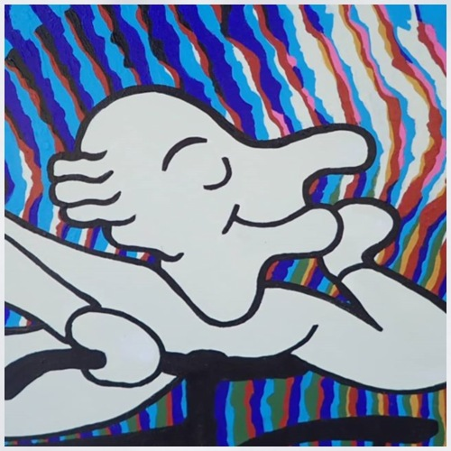 Albert Hofmann blotterface - Turnbeutel