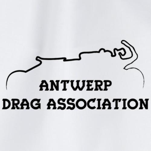 ADA DRAG Logo Klein Zwart - Gymtas