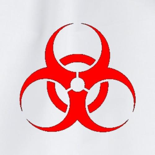 Rotes clan logo - Turnbeutel