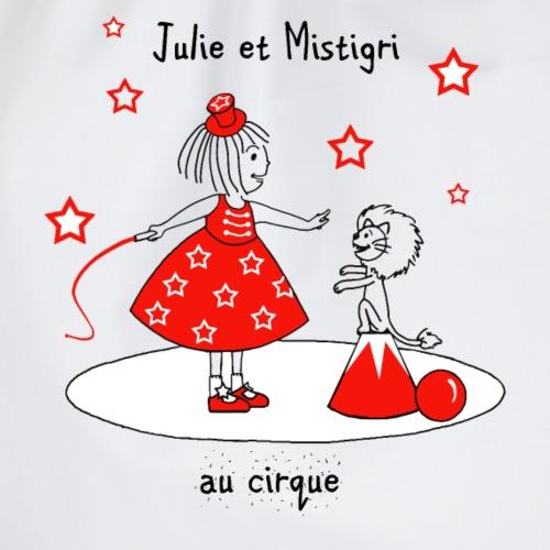 Julie et Mistigri au cirque - Sac de sport léger