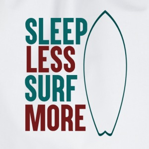 Sleep Less - Surf More - Turnbeutel