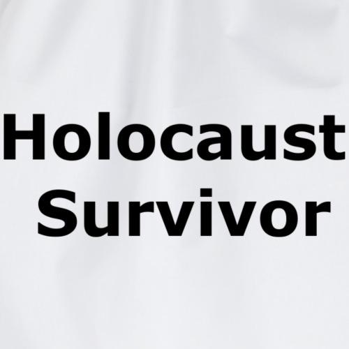 Holocaust Survivor - Drawstring Bag