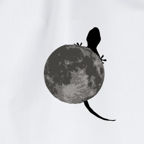 moon lizard - Drawstring Bag