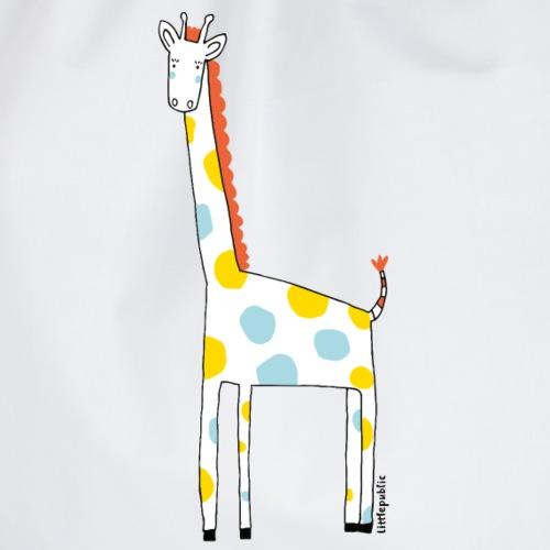 Lustige Giraffe zu verschenken   littlepublic - Turnbeutel