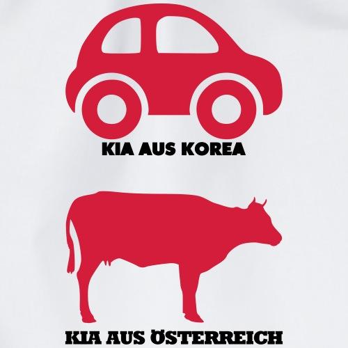 Kia aus Korea - Kia aus Österreich - Turnbeutel