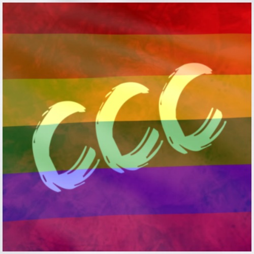 Creators Connect Community Pride Flag Logo - Sportstaske