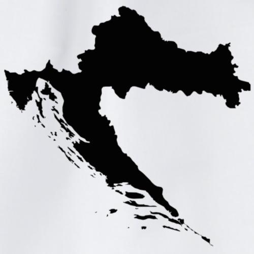 Croatia Map Outline - Turnbeutel