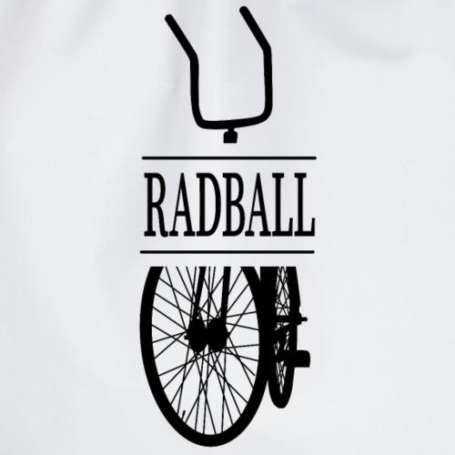 Radball | Retro Black - Turnbeutel
