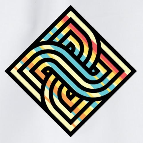 Square Regenbogen - Turnbeutel