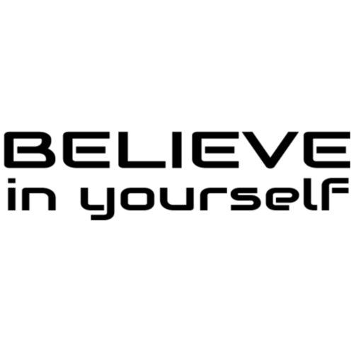 believe in yourself 1 - Turnbeutel