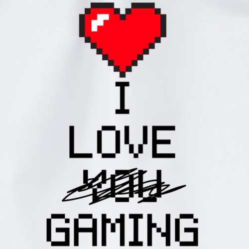 i love gaming - Sac de sport léger