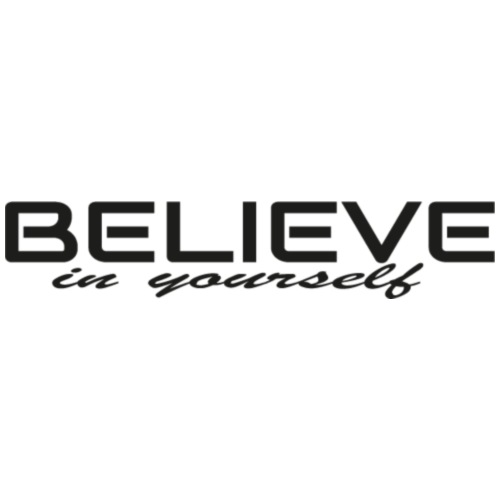 believe in yourself 2 - Turnbeutel