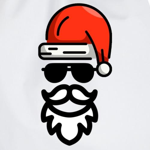 Cool Santa / Cooler Weihnachtsmann - Turnbeutel