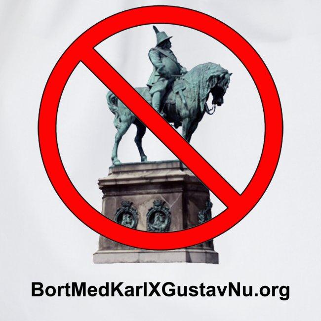 Bort med Karl XI Gustav på Stortorget i Malmö nu!
