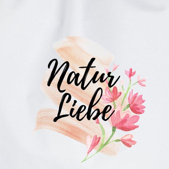 Natur Liebe Logo Pastell
