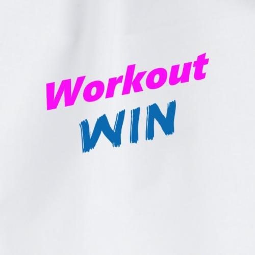 Sport Workout motivation - Turnbeutel