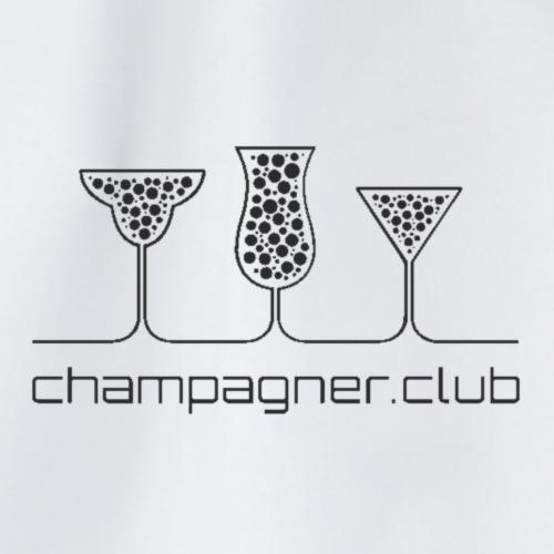 champagner club - Turnbeutel