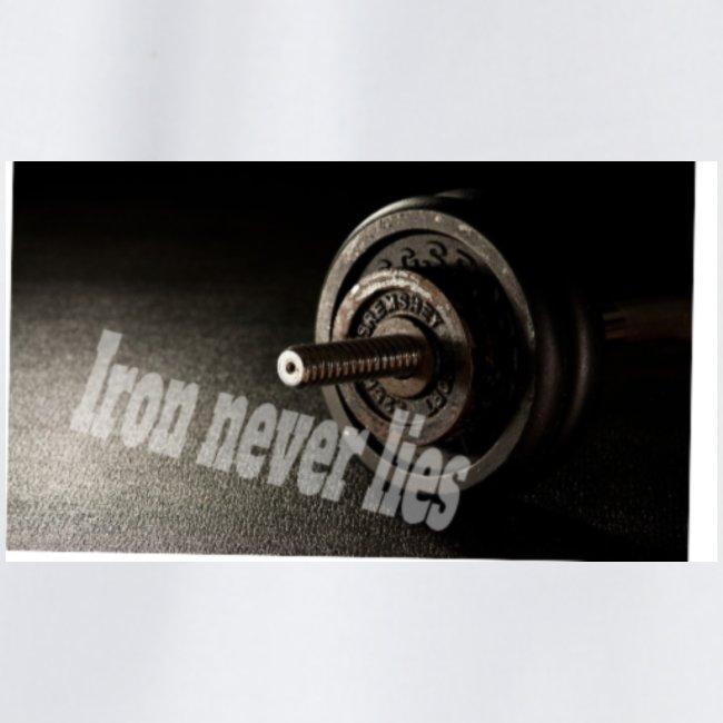 Iron never lies