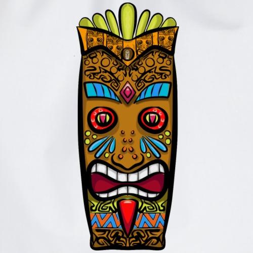 Máscara Tribal - Mochila saco