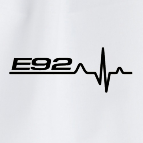 e92 herzschlag - Turnbeutel