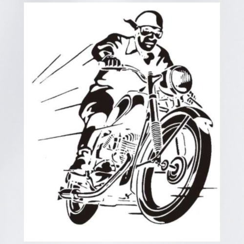 Motoradfahrer - Turnbeutel
