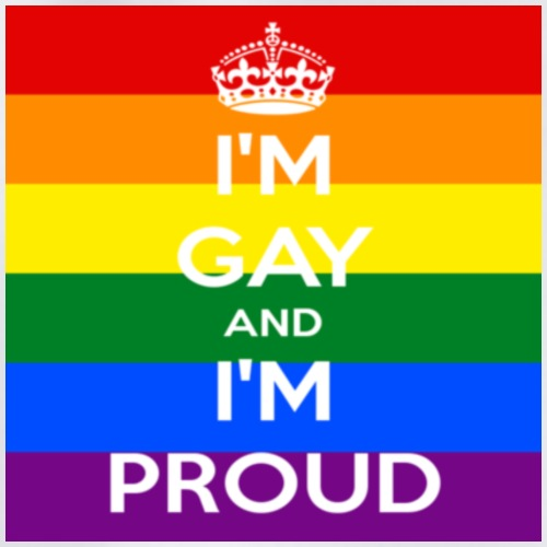 Proud gay - Gymnastikpåse