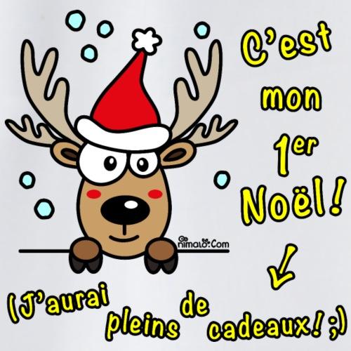 Renne - C'est mon Premier Noël! - Sac de sport léger