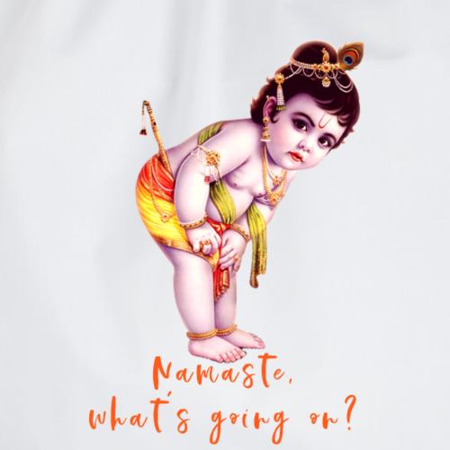 Namaste - Krishna Baby Boy - Turnbeutel