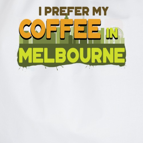 Kaffee in Melbourne Australien Reise Urlaub - Turnbeutel