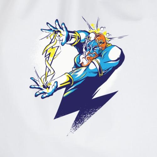 Zeus Göttervater Cartoon Illustration - Turnbeutel