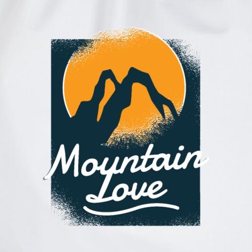Berg Gebirge Liebe Berge Gebirgskette - Turnbeutel