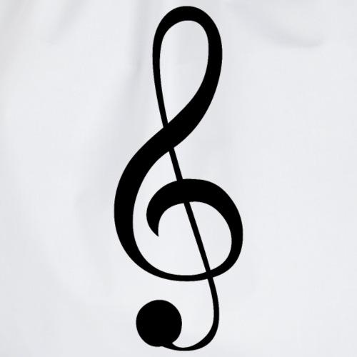 Musik Symbol Musikschlüssel Notenschlüssel - Turnbeutel