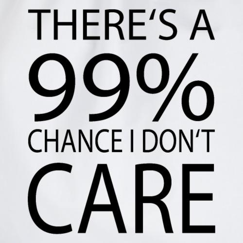Es ist mir zu 99 Prozent egal - Turnbeutel