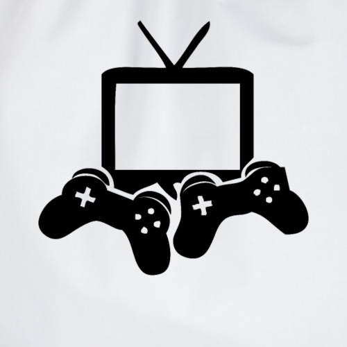 Video Games Symbol Spieler Streamer Spielen - Turnbeutel