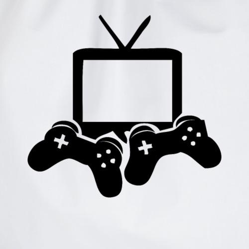 Video Games Symbol Spieler Streamer Spielen - Turnbeutel