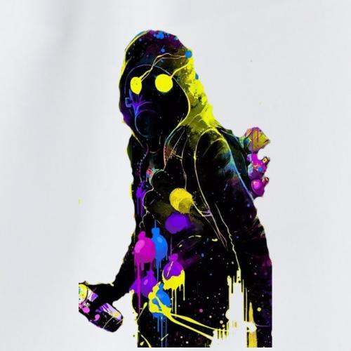 Toxic regenbogen design - Turnbeutel