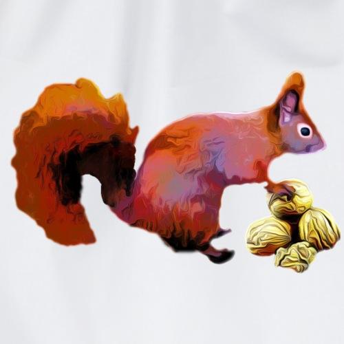 Weltforscher Eichhörnchen - Turnbeutel