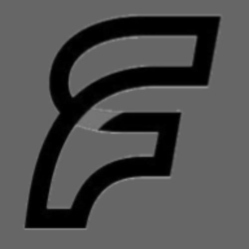 FaMe Icon Schwarz + Schrift - Turnbeutel