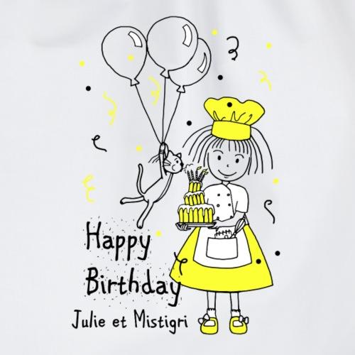 Joyeux anniversaire Julie et Mistigri - Sac de sport léger