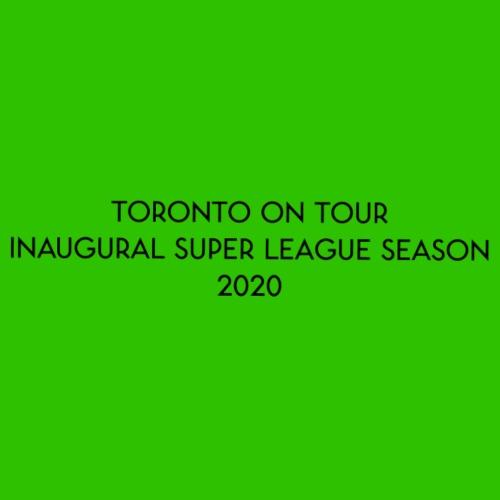 Toronto On Tour - Black - Drawstring Bag