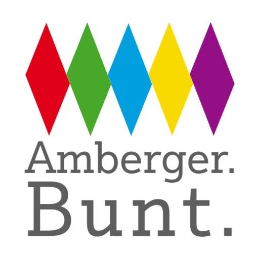 AMBERG BUNT LOGO WELTOFFEN - Turnbeutel