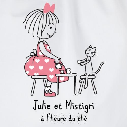 Julie et Mistigri a l'heure du thé - Sac de sport léger