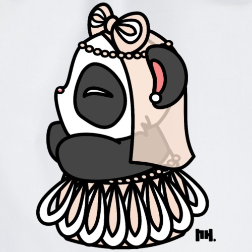 Little Panda Bride - Turnbeutel