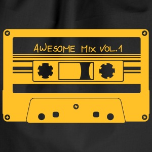 "Cassette ""Awesome Mix"" - Gymtas"
